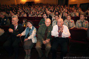 Пластуни-сеніори та гості урочистої Академії, Львів, 28 квітня 2012