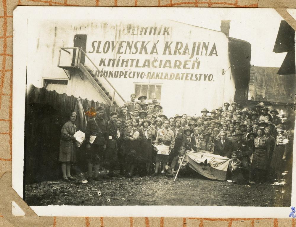 Пласт на Закарпатті, невідомий відділ, 1920-1930рр.