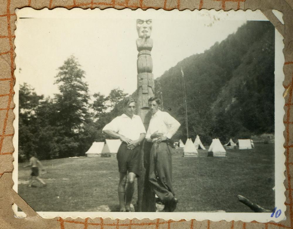 Пластовий табір, невідоме місце, 1920-1930 рр.