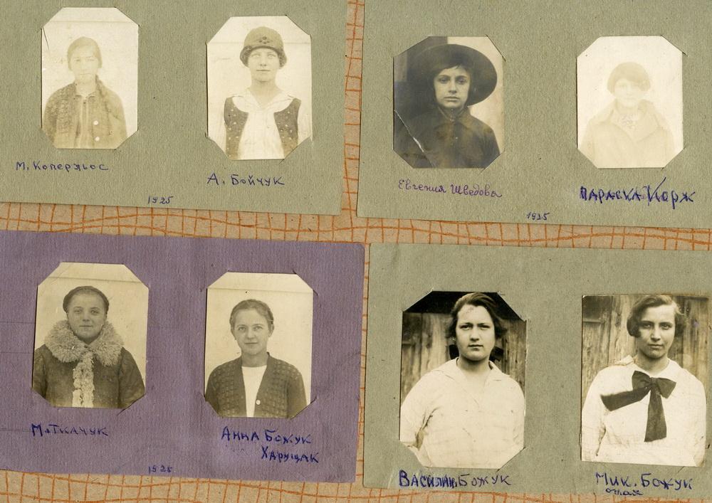 Пластунки Великого Бичкова. З фотоальбому Василя Белея. 1920-1930рр.