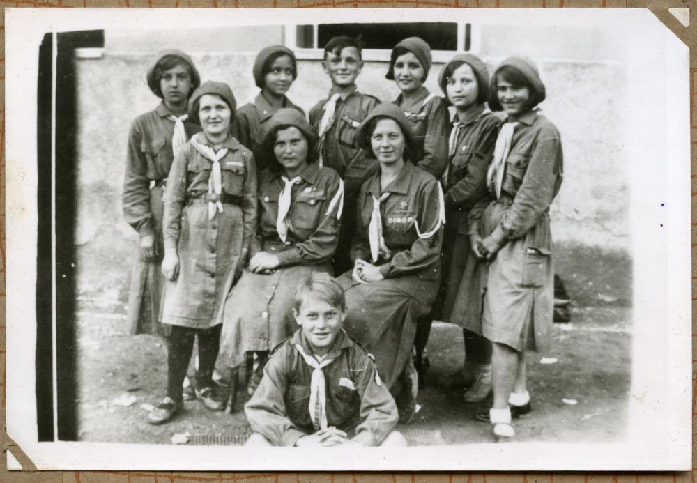 Гурток пластунів, Підкарпатська Русь, 1930 рр.