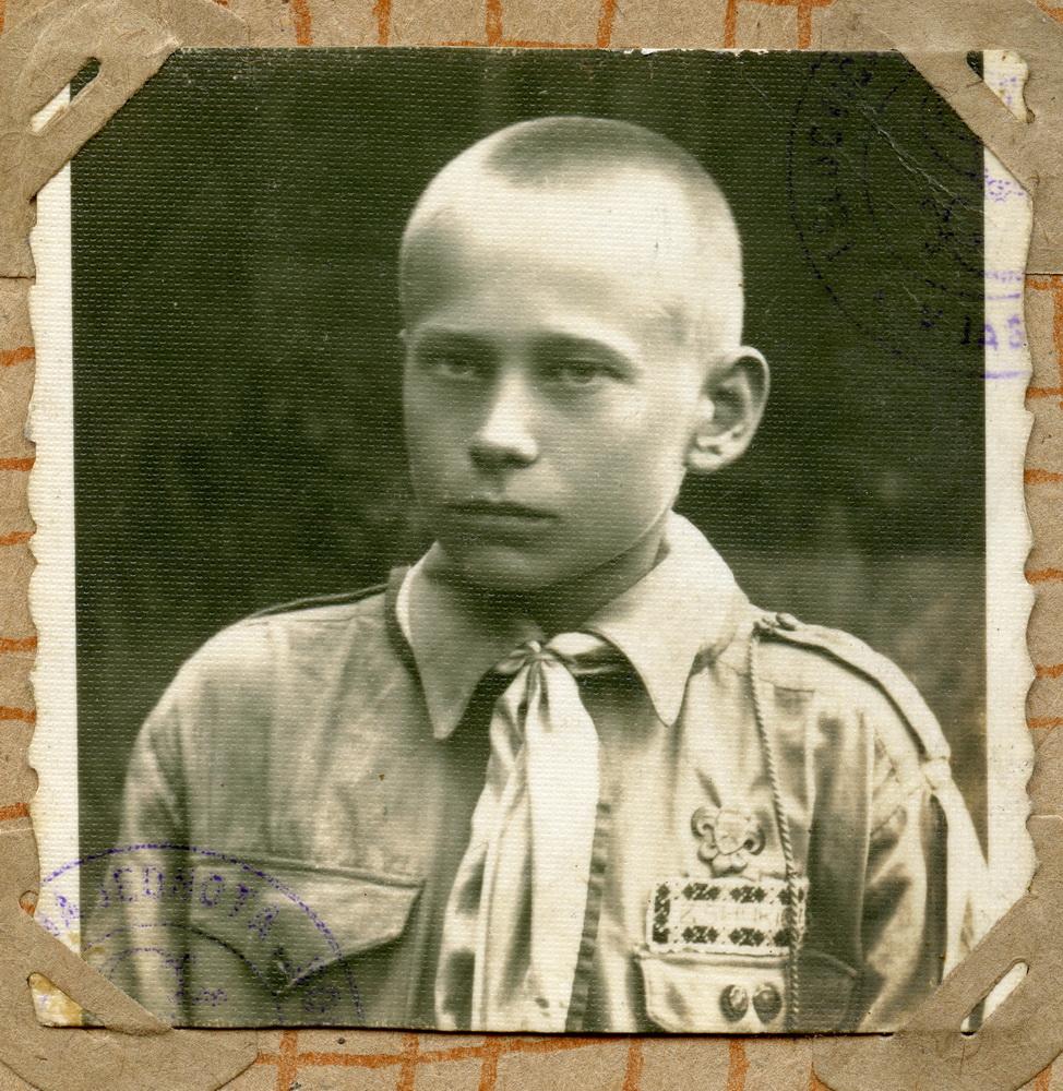 Пластун Василь Белей на псевдо Могікан, 1933 рік