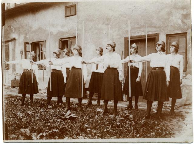 Пластовий Здвиг до 10-ліття організації, 1922
