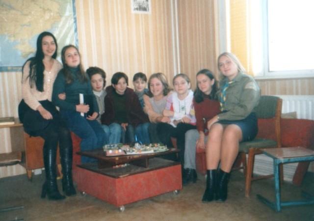 """Гурток """"Жасмини"""", сходини, домівка ужгородських пластунів"""