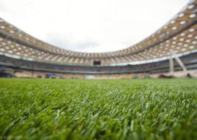 Пластуни та Скаути Києва грають у футбол, НСК Олімпійський