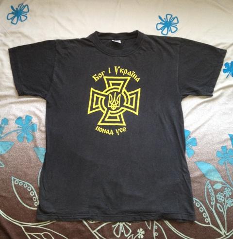 Моя пластова футболка: ст.пл.скоб Володимир Шургот, ОЗО