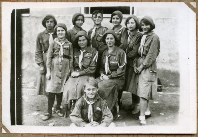 Гурток пластунів, 1930-ті. З архіву пл.сен. Василя Белея