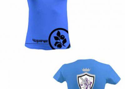 Гурткова футболка г.ч.8 «Чорнички»