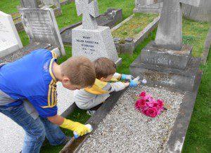 Упорядкування могил