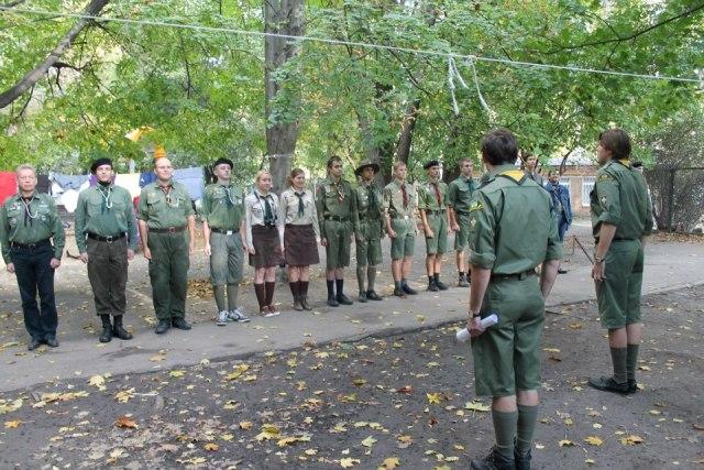 12-14 жовтня 2012 р. у Києві відбувся вишкіл виховників юнацтва ч. 126