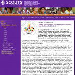 Новина на сайті scout.org