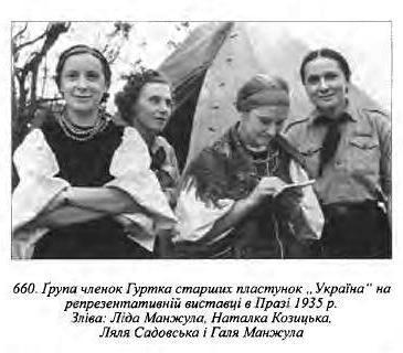 "Група членок гуртка УСП ""Україна"""