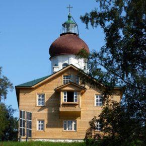 Одне з моторошних місць СЛОНу — церква на Секірній горі, штрафний ізолятор.