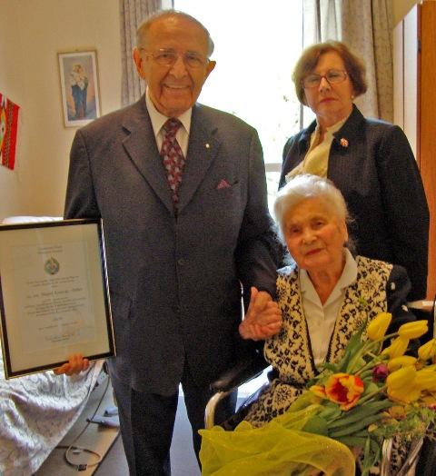 4 листопада 2012 р. в Торонто відійшла на Вічну Ватру пл. сен. Марія Комісар-Равич