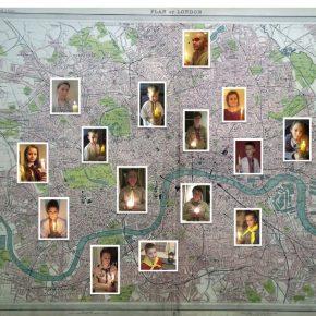 Карта Лондона