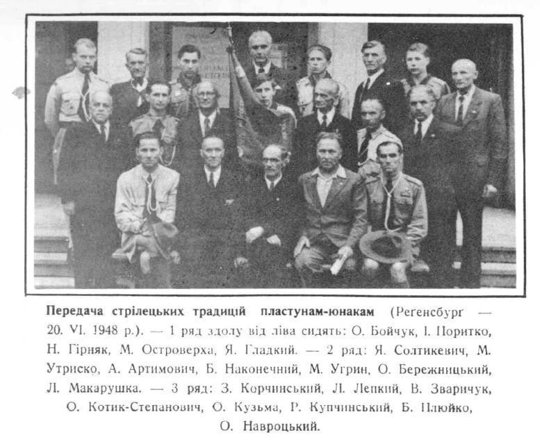 Передача стрілецьких традицій пластунам-юнакам