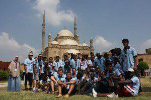 В Єгипті відбувалась 15 Міжнародна зустріч скаутів для культурного обміну (29.08-02.09.12)