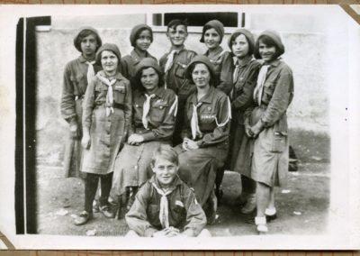 Гурток пластунів з Великого Бичкова, 1930 рр. З архіву Василя Белея