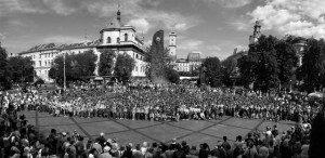 Велике спільне фото з відкриття ЮМПЗ у Львові