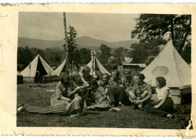 Пластовий табір у селі Солочин. Підкарпатська Русь, 1934 р. З архіву Михайла Шваба