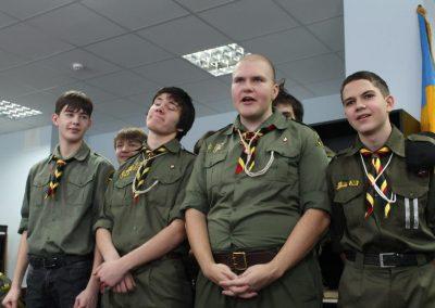 5 років куреню УПЮ ч. 97 ім. Максима Кривоноса