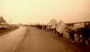 Живий ланцюг до дня Злуки УНР та ЗУНР, 21 січня 1990
