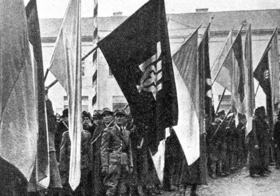 Як святкували день Злуки в Карпатській Україні, 22 січня 1939