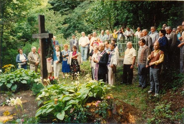 Панахида в Хусті, 28 серпня 1991 року