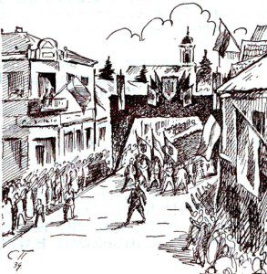 Лави відділів «Карпатської Січі»