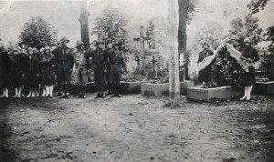 Тисменицькі пластуни в Станіславі. Кін. 1920-х