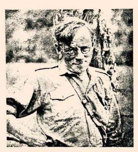 Володимир Бірчак на пластовому таборі