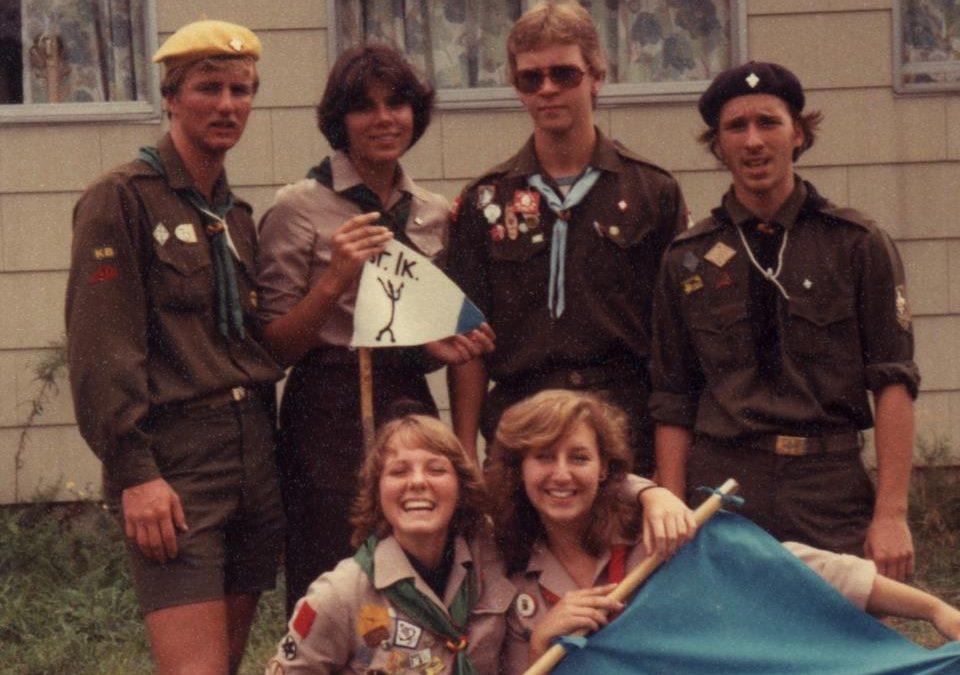 Історія однієї світлини: вишкіл виховників УПЮ 1979
