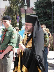 Кир Дмитро вітає пластунів зі святом