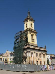 Барокова ратуша в Бучачі. На вічній реставрації