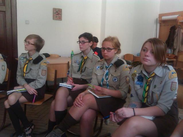 Вишкіл для членів Міжнародної Служби Пласту