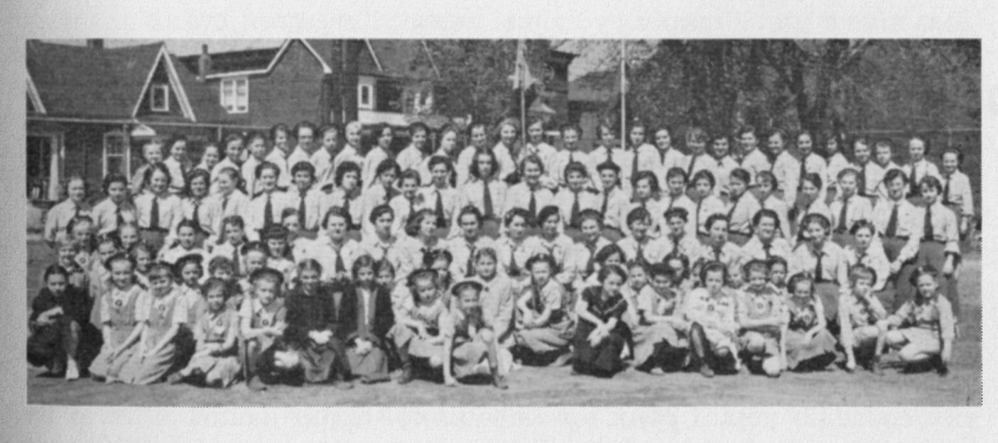 Перші роки праці Пластової Станиці в Торонті