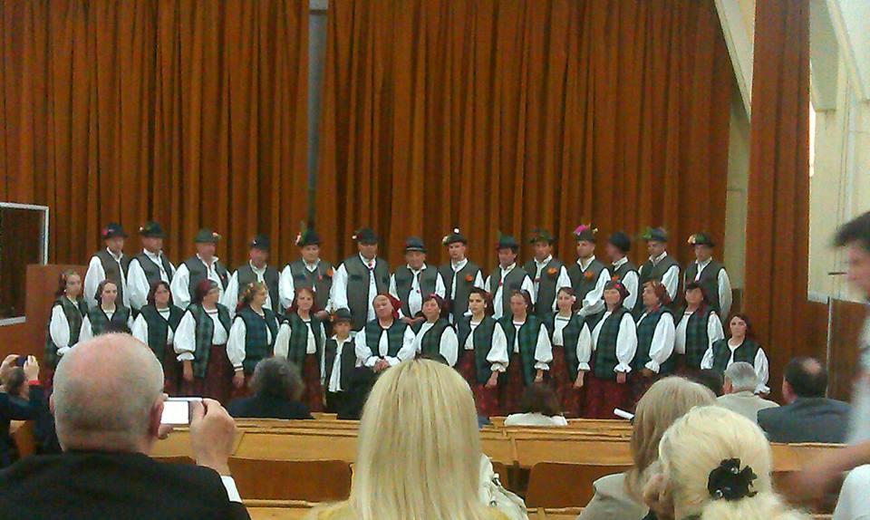 Презентація в Клужі хор