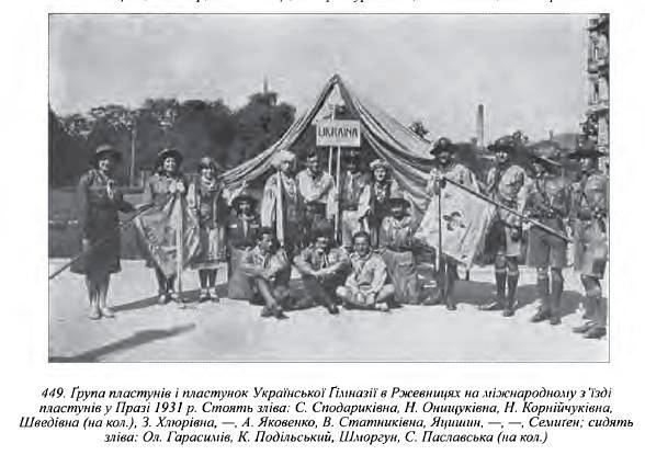 Слов'янське джемборі у Празі 1931 р.