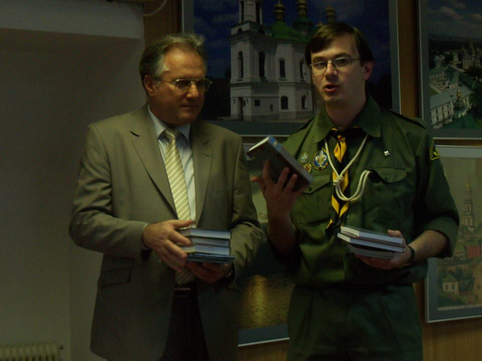 З радником посланником Теофілом Рендюком, 26 травня 2013