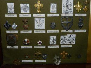 Зразки скаутських гербів різних країн