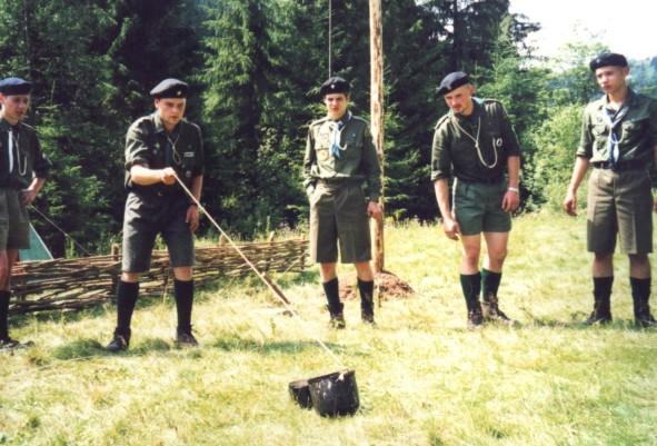 Лісова Школа 2000, теренівка