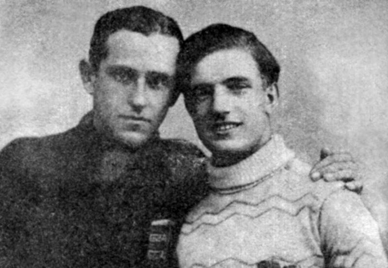 Олекса Бокшай та Василь Федак — воротарі СК «Русь» (Ужгород) 1927—1937