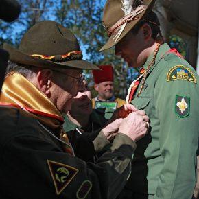 Нагородження Бронзовим хрестом за геройський чин