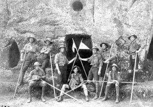 """Члени куреня """"Лісові чорти"""", Карпати, 1920-ті рр."""