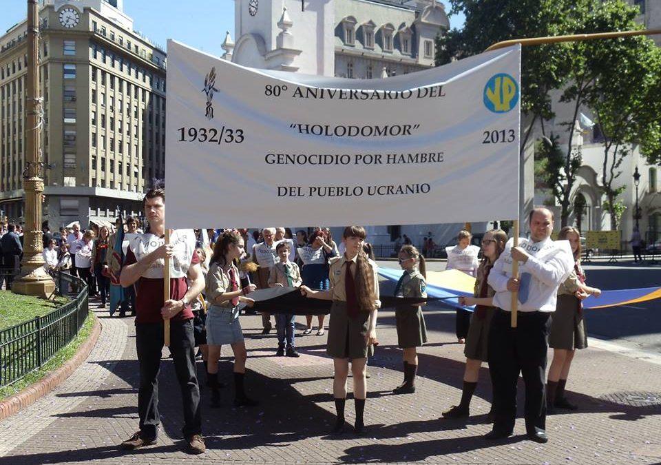 Вшанування 80-ої річниці Голодомору 1932-1933, Буйнос-Айрес, 2013