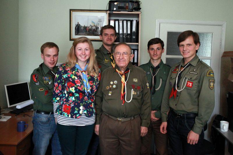 Візит Начального Пластуна до України