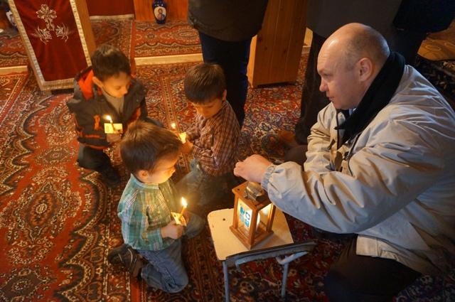 Передача Вогню українцям Тімішоари