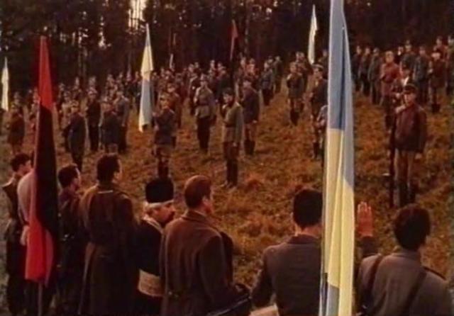 Кадр з фільму Олеся Янчука Нескорений