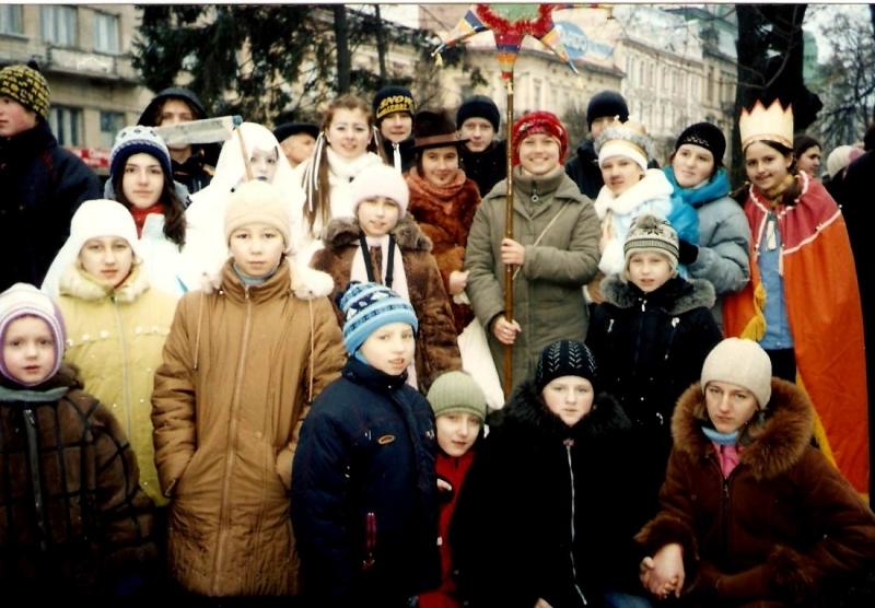 Пластове Різдво в Авдіївці