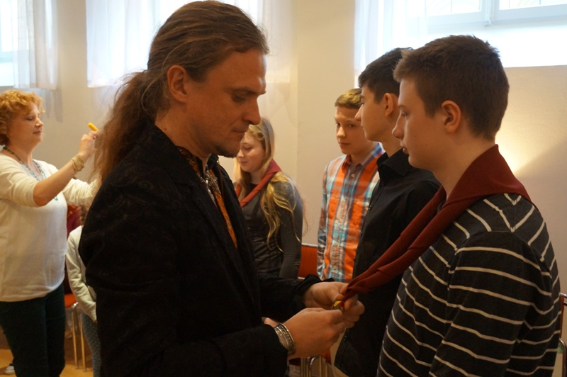 Перші пластові сходини у Швеції, Стокгольм, 12 квітня 2014 р.